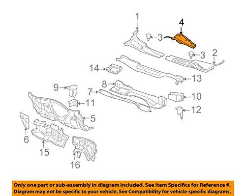 General Engine Parts - General Motors, DEFLECTOR, 15794785