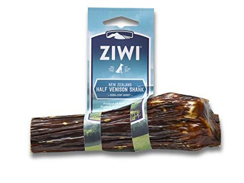 (Ziwi Peak Deer Shank Dog Bone Treat, Half )