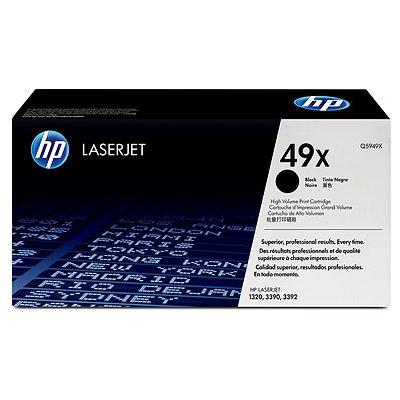 - HP Laser Tnr 49A HI Yld LJ 1320 Series Black Smart Print 15.35 x 4.80 x 7.72