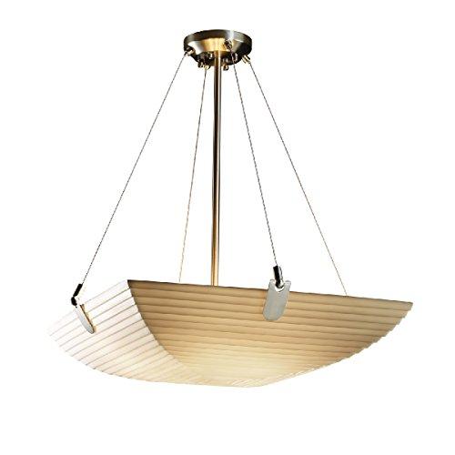 Justice Design Group Lighting PNA-9622-25-SAWT-NCKL-LED5-5000 Porcelina-U-Clips 27
