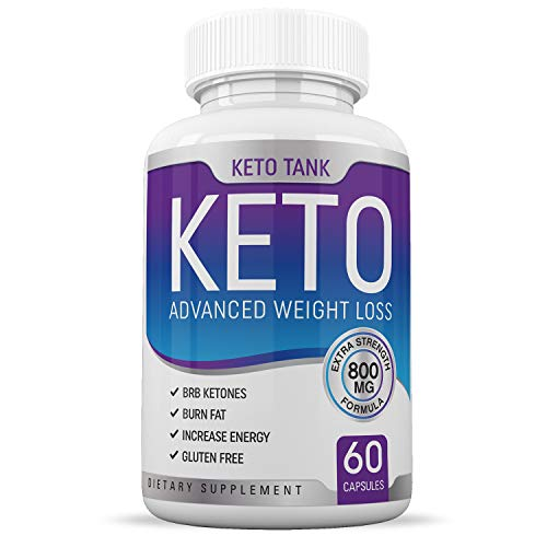 Keto Pills - for Women & Men - Ketogenic Carb Blocker & Fat Burner - Weight Loss Supplement - Keto Tank (5 Foods That Kill Belly Fat Fast)