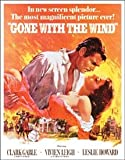 Gone With The Wind Tin Sign 13 x 16in