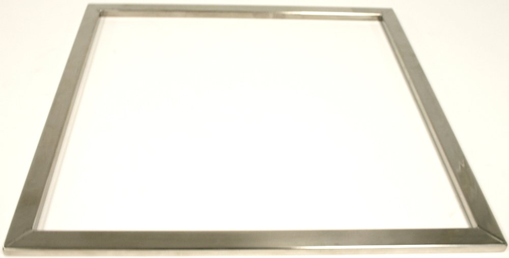 Paderno World Cuisine 15-3/4-Inch Square Stainless-Steel Guitar Frames