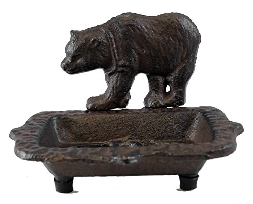 New Rustic Cast Iron Black Grizzly