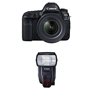 Canon EOS 5D Mark IV Full Frame Digital SLR Camera with EF 24-70mm f/4L IS USM Lens Speedlite Flash Bundle (B01LYFIZ74) | Amazon price tracker / tracking, Amazon price history charts, Amazon price watches, Amazon price drop alerts