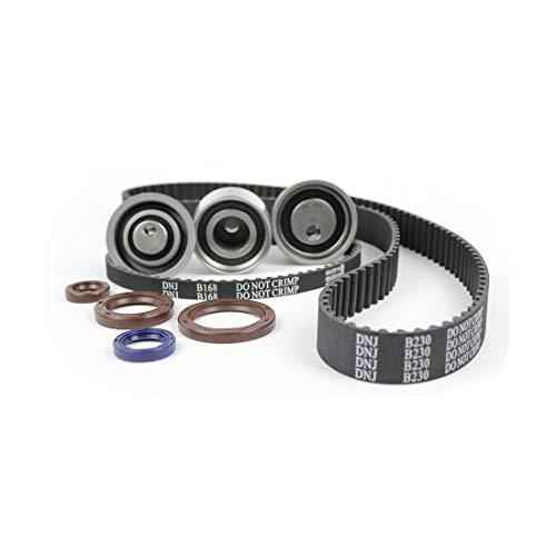 DNJ TBK153A Timing Belt Kit for 1993-1996 / Eagle, Mitsubishi, Plymouth/Colt, Expo, Expo LRV, Summit / 2.4L / SOHC / L4 / 16V / 2351cc
