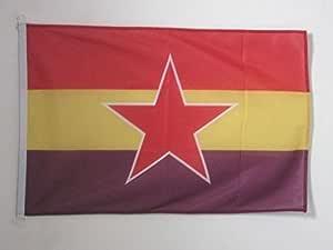 AZ FLAG Bandera ESPAÑA Republicana Estrella del EJÉRCITO Popular ...