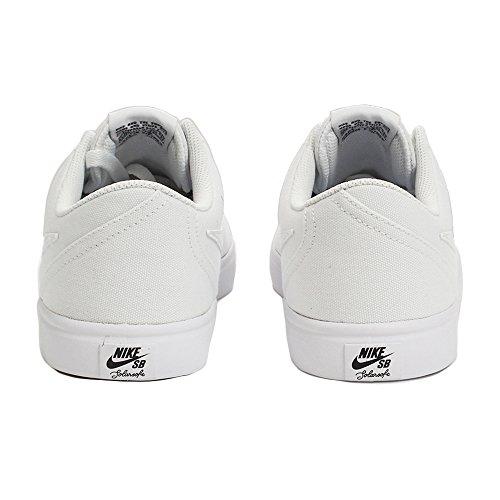 Chaussures Solar Nike CNVS Check White de 110 Homme SB White Blanc Black Fitness wrIqI6