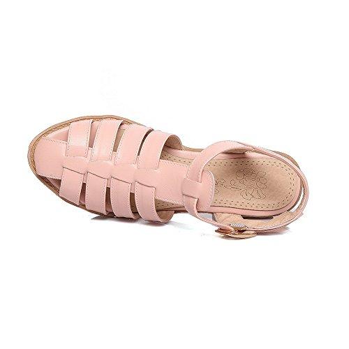 Femme BalaMasa 5 Rose EU Compensées Sandales 36 Rose 8rE1qr