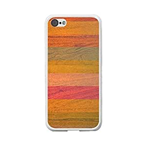 Old Wood Print Coloful Pattern Iphone 5c Hard Phone Cover Protective Back Skin Case