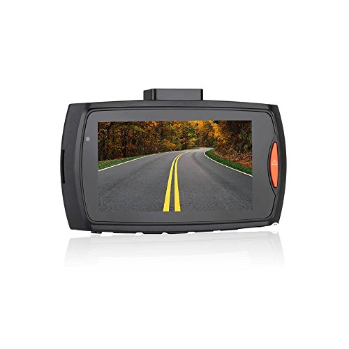 Dash Cam, with 16GB Micro SD Card Included Night Vision G-Sensor Parking Monitor Functions Full HD 1080P Dash Camera For Cars 2.7 Inch Screen 140 Degree Wide Angle Lens