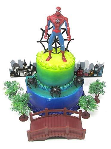 Amazon Cake Toppers Super Hero Spider Man Birthday Set