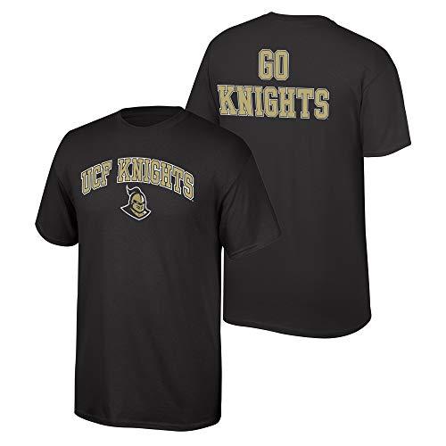 Elite Fan Shop NCAA Men's Central Florida Golden Knights T Shirt Team Color Back UCF Knights Black Large