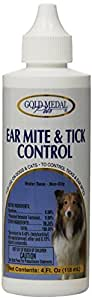 Gold Medal Pets Ear Mite & Tick Control for Pets, 4 oz.