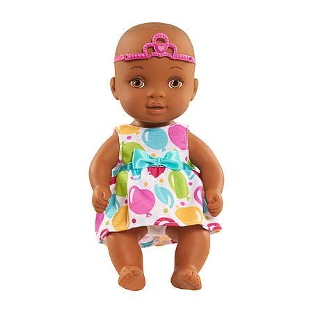 "Search : Just Play 9"" Waterbabies Sweet Cuddlers Doll - African American, Celebration"