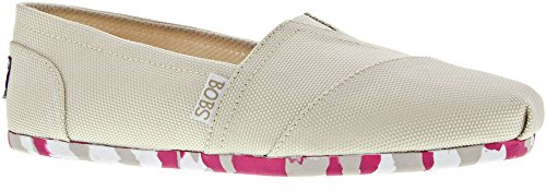Skechers Bobs Womens Plush Balletto Piatto Naturale