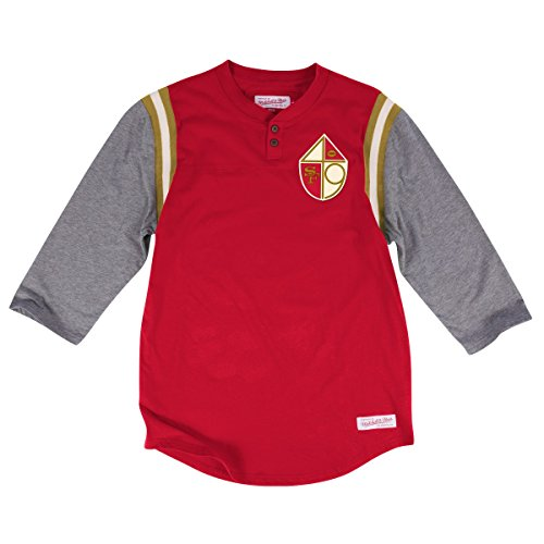 San Francisco 49ers Mitchell and Ness Shirt 498914227