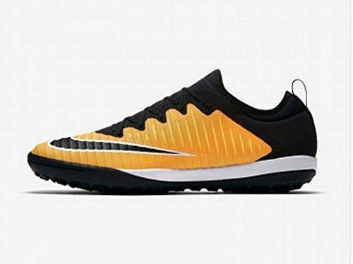 the latest 3d800 ad371 Chaussures De Football Nike Mercurialx Finale Ii Tf Turf Laser Orange Noir  831975 801 Taille 6.5