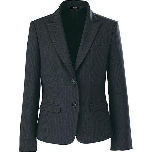 ジーベック トリクシオンオフィスジャケット 25/チャコールグレー 40020 B01NBF22R7 13号