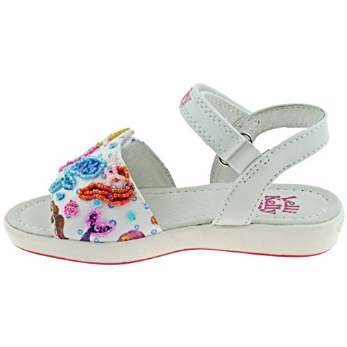 White Kelly Sandal Lelli Mermaid Lelli Kelly EwXPSS
