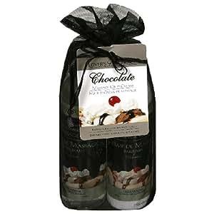 Lover's Choice Massage Oil & Cream, Chocolate