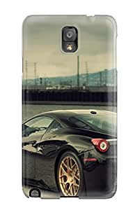 New Cute Funny Amazing Black Car S Case Cover/ Galaxy Note 3 Case Cover