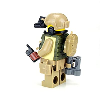 Battle Brick CCT Air Force Special Forces Value Custom Minifigure: Toys & Games