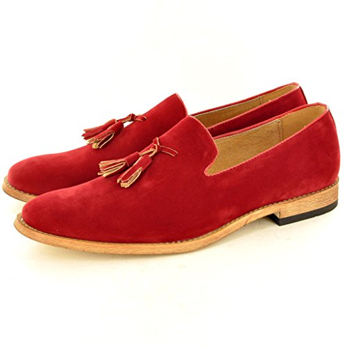 My Perfect Pair - Mocasines para hombre Rojo - rojo