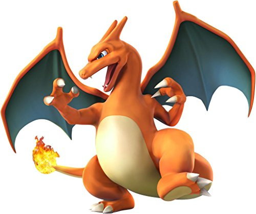 CHARIZARD-3D-Pokemon-Decal-WALL-STICKER-Home-Decor-Art-Video-Game-C356
