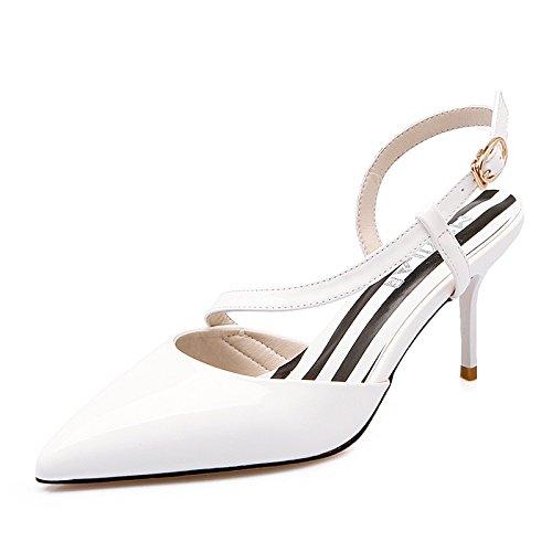 Fissaggio Verniciate Di I Scarpe Calzature Sandali Ogni GAOLIM Asolati Giorno Dispositivi Bianco Donna S81PA