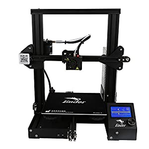 Luxnwatts Creality Ender 3 3D Printer Aluminum DIY Kit Resume Print 220x220x250mm for Beginners from Creality