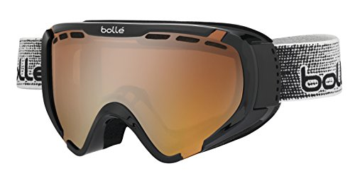 Bollé Explorer Masque de Ski Enfant Explorer Shiny Black Modulator Citrus