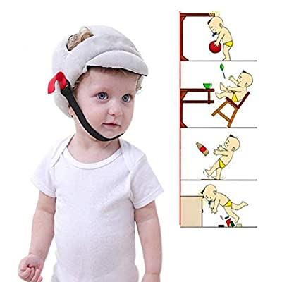 RANRANHONME Safety Helmet Head Adjustable Baby Toddler Safety Helmet Hat Head Protection,Infant Protective Safety Hat,Biking Walking Crawling