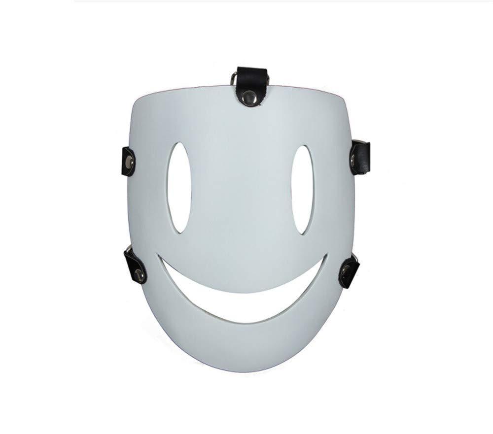 ILYMJ Maske Halloween COS Rolle Ball spielt spielt spielt Harz Maske Weiß One Größe Masken 3d2b5b