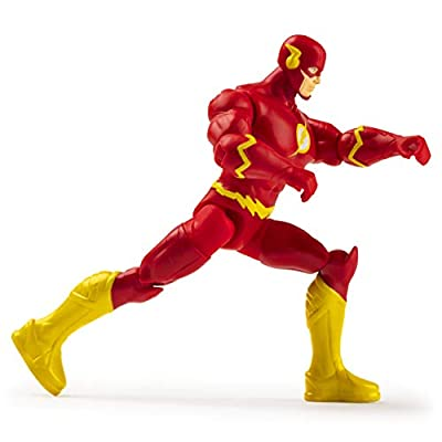 DC Heroes Unite 2020 The Flash 4-inch Action Figure by Spin Master: Toys & Games