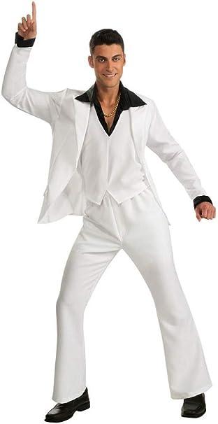 Amazon.com: Saturday Night Fever Suit Costume: Clothing