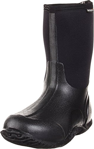 Bogs Women's Classic Mid Waterproof Insulated Boot,Black,8 M US