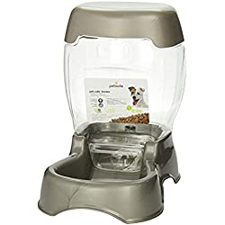 Petmate Pet Cafe Feeder Dog and Cat Feeder Pearl Tan, 12 lb