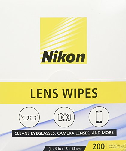 Nikon Pre Moistened Lens Cleaning Wipes