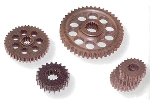 Team Performance Solution Hyvo Bottom Gear - 43T Sprocket, 15T Internal 930271 (Hyvo Team Sprocket)