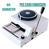 SUNCOO Embossing Machine 66 Characters Card