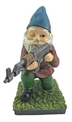 Military-Garden-Gnome-With-An-AK47-Funny-Army-Statue-Perfect-For-Gun-Lovers-Military-Collectors-Combat-Enthusiasts-Army-Men-Indoor-Outdoor-Lawn-Yard-Dcor