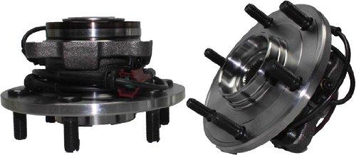 Brand New (Both) Rear Wheel Hub and Bearing Assembly for Nissan Armada Pathfinder Infiniti QX56 6 Lug W/ABS (Pair) 541004 x2