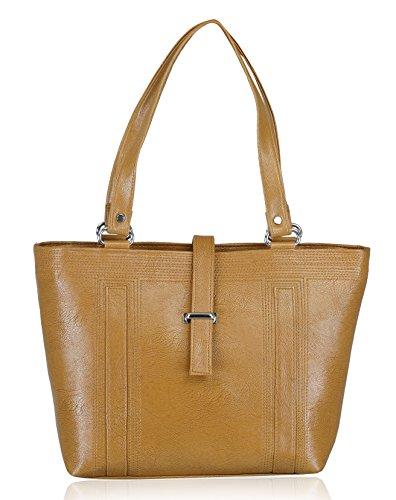 Fantosy Women's Handbag (Beige) (FNB-553)