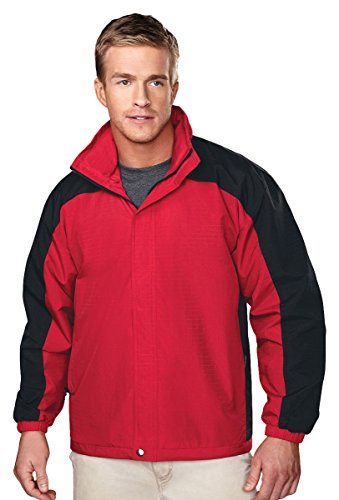 Tri Mountain Mesh-Lining Concealable Hooded Jacket. 2100 Meridian
