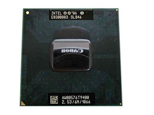 (Intel Core 2 Duo T9400 2.53GHz 6MB Mobile CPU Processor Socket P 478-pin SLB46 SLGE5)