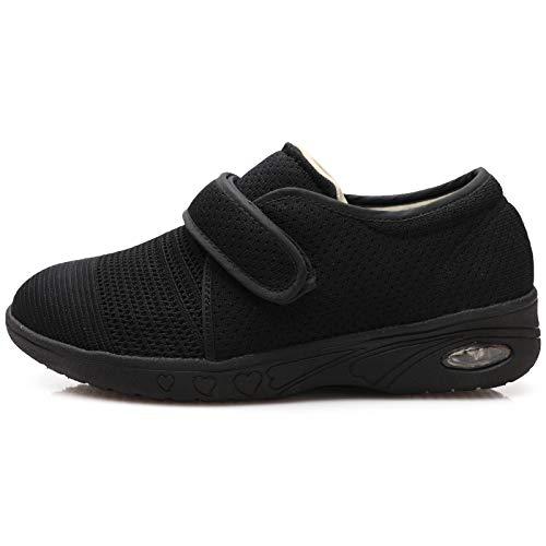 Youyun Women's Elderly Shoes-Non-Slip, Fattening and widening, Light Walking Shoes for Diabetics