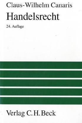 Handelsrecht: Ein Studienbuch