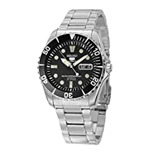 SEIKO Automatic Black / Black Men's Watch SNZF17J1 made in Japan