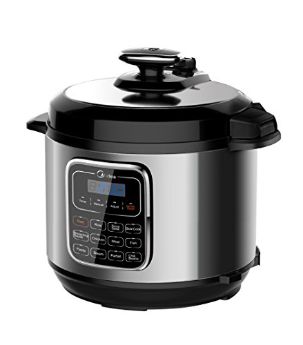 Midea MPC176-SS Pressure Cooker, None, Stainless Steel